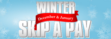 Winter Skip-A-Pay this December and January