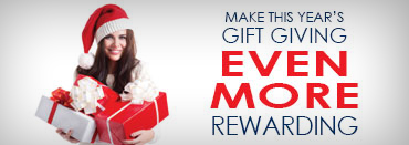 Make this year's gift giving even more rewarding