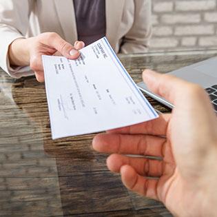 cashier check scams