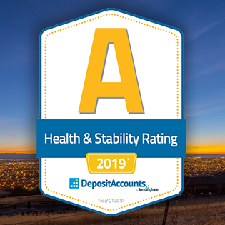Deposit Health & Stability Rating 'A'