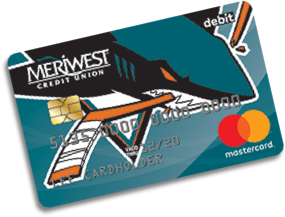 Meriwest Sharks Debit Card